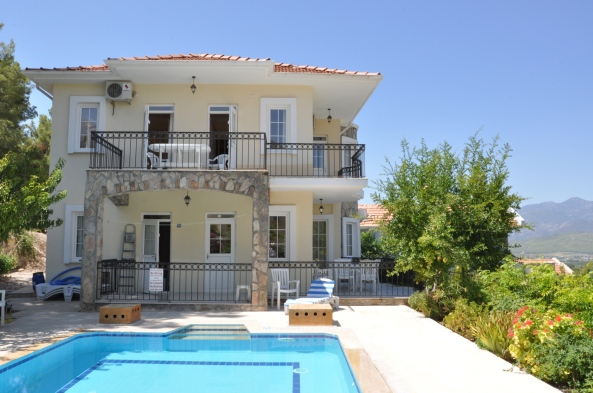 August 2012-A well needed rest in my villa in Turkey...it's available for rent!