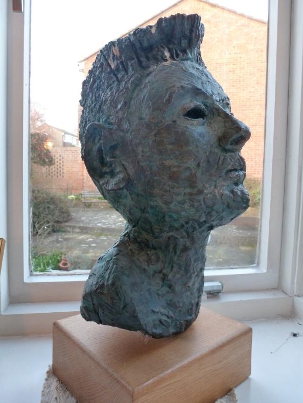 One of mum's sculptures