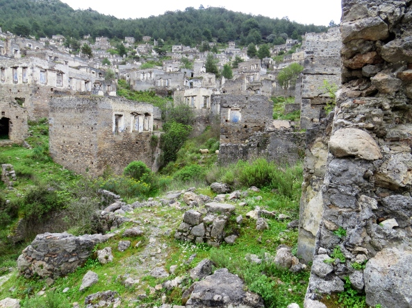 Kayaköy lives up to its name of Ghost Town!