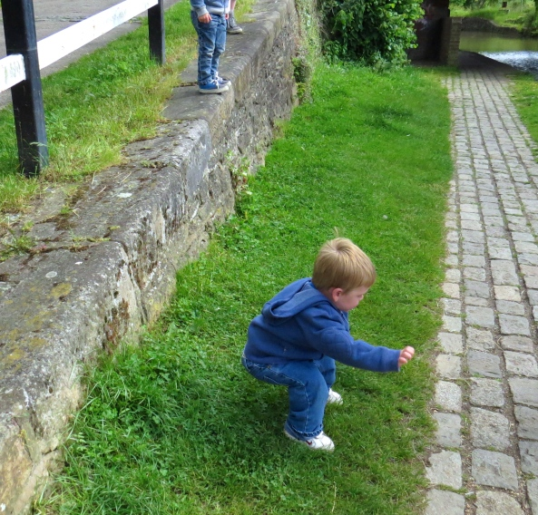 Safe landing...phew! Not a negligent grandparent!