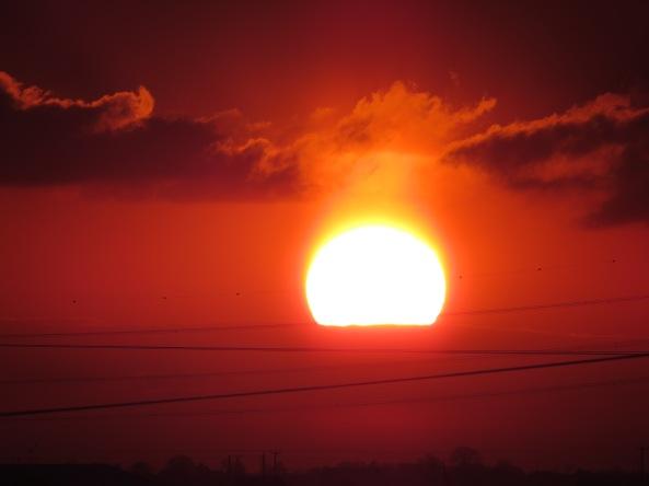 Norfolk sunset.
