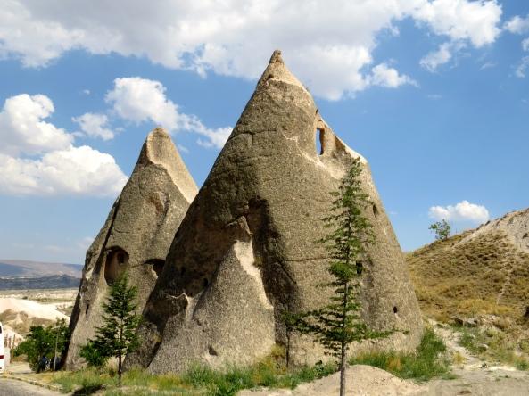 Cappadocian pointy houses!